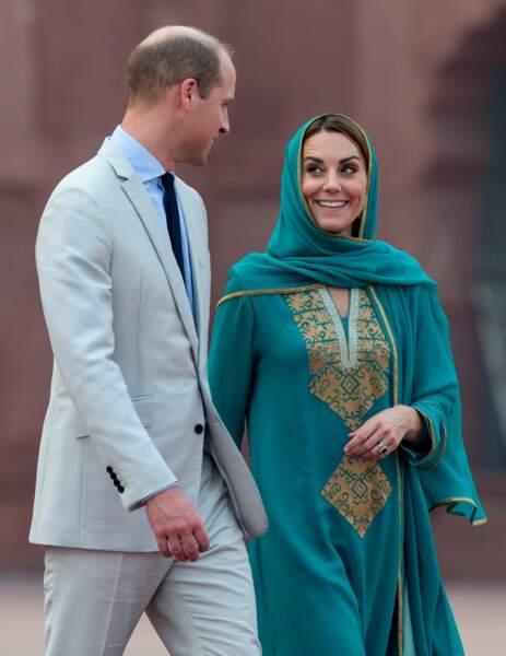 William et Kate très complice au Pakistan en octobre 2019