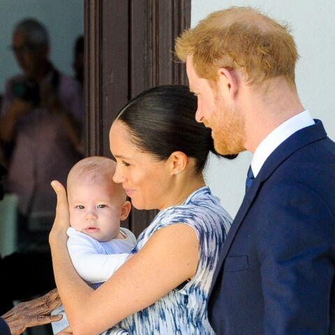 Archie, le fils de Meghan Markle et Harry, s'impose en icône de mode sur un nouveau cliché