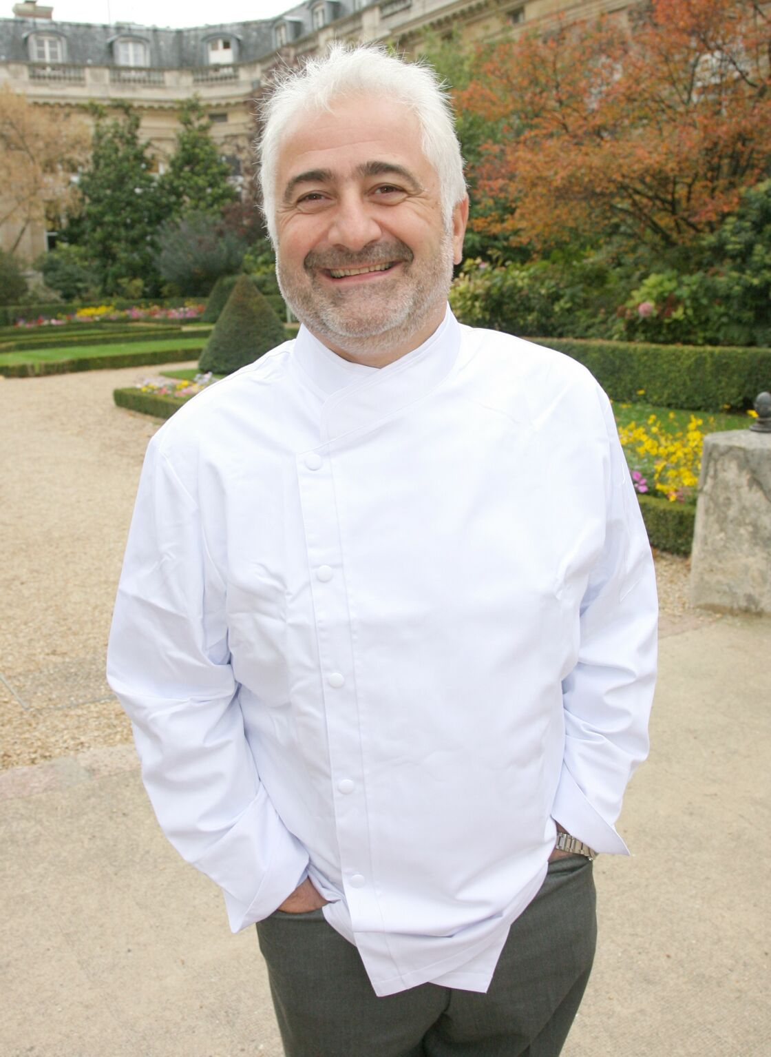 Le chef Guy Savoy