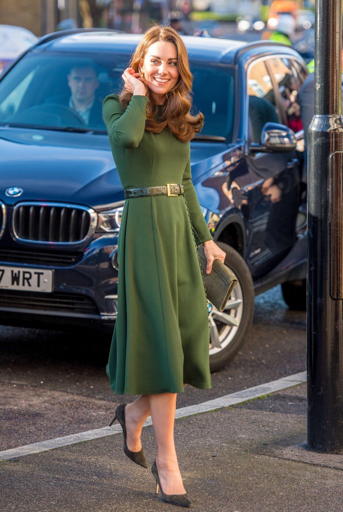 Kate Middleton en Beulah London en janvier 2019