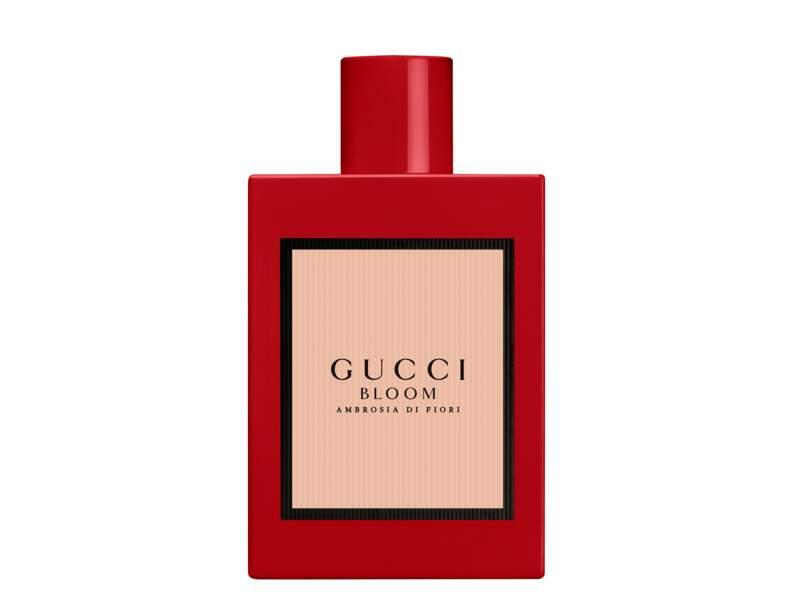 Eau de Parfum Intense Bloom Ambrosia di Fiori, Gucci, 75 €