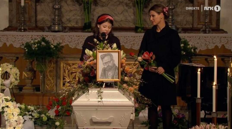 Maud Angelica a prononcé un émouvant hommage à Ari Behn qui souffrait de dépression et d'alcoolisme
