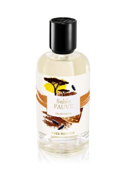 Eau de Parfum Sable Fauve, Yves Rocher, 57 €