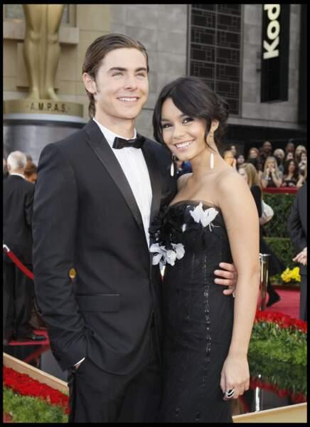 Zac Efron et Vanessa Hudgens
