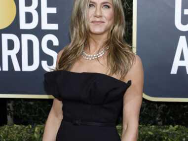 PHOTOS - Les détails de la robe Dior Haute-Couture de Jennifer Aniston.