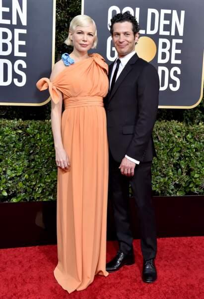 Michelle Williams enceinte et son fiancé Thomas Kail -