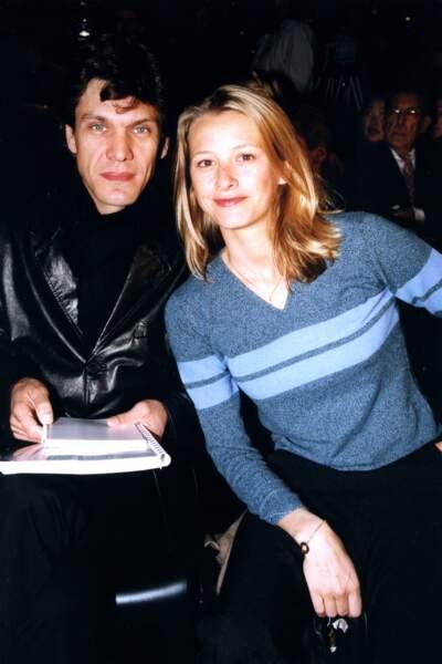 Marc Lavoine et Sonia Poniatowski