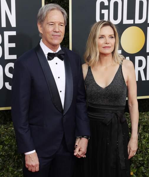 David E. Kelley et sa femme Michelle Pfeiffer.