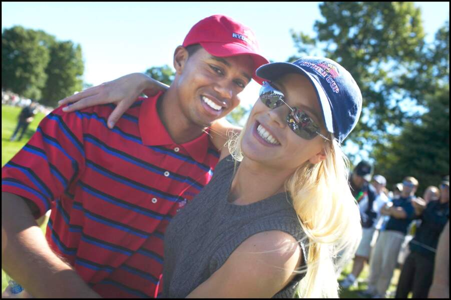 Tiger Woods et Elin Nordegren