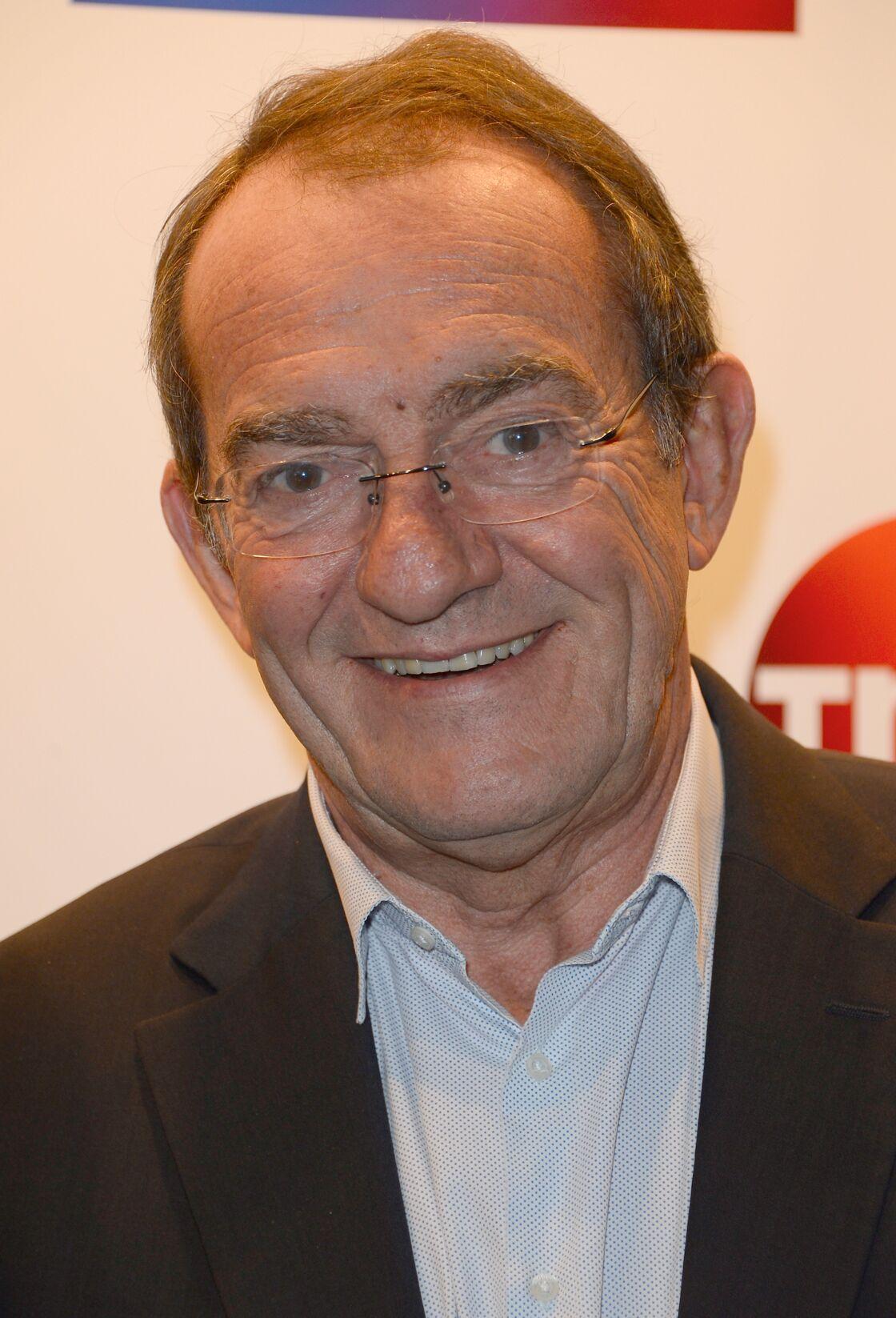 Jean-Pierre Pernaut - Conférence de presse de TF1 pour le lancement de l'Euro 2016 à Paris le 17 mai 2016.