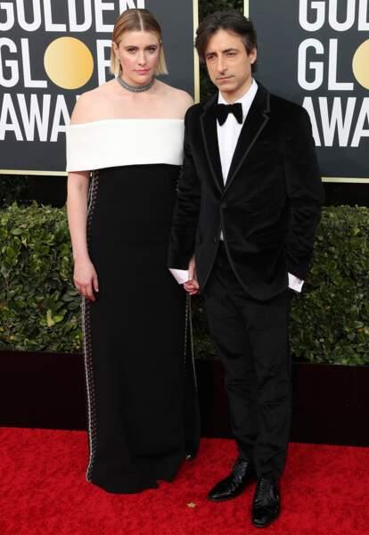 Noah Baumbach et sa compagne Greta Gerwig -