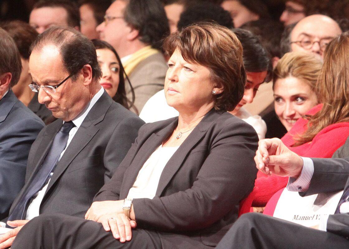 Julie Gayet et François Hollande pendant la campagne présidentielle en 2011
