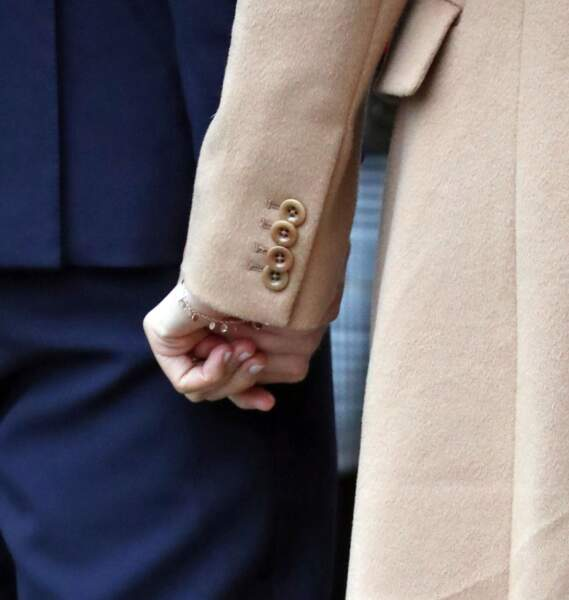 Meghan Markle porte à nouveau que son bracelet Kismet.