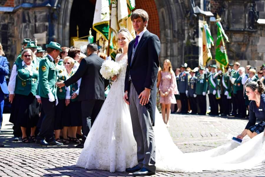 Mariage du prince Ernst August junior de Hanovre et Ekaterina Malysheva,  le 8 juillet 2017