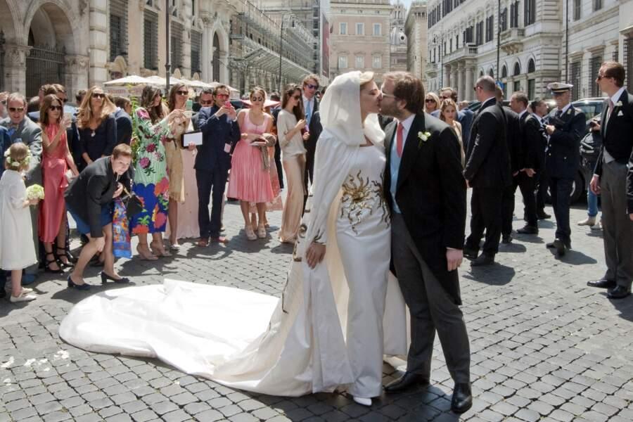 Mariage de Joseph Getty et Sabine Ghanem, le 30 mai 2015