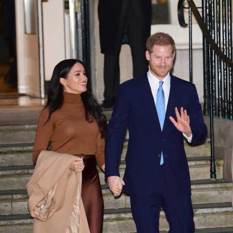 Meghan Markle et Harry plus câlins que jamais: le couple débute 2020 en faisant front