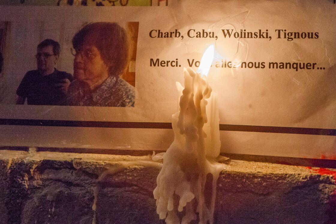 La place du Capitole à Toulouse, quelques heures après les attentats de Charlie Hebdo et de l'Hyper-Casher, le 7 janvier 2015.