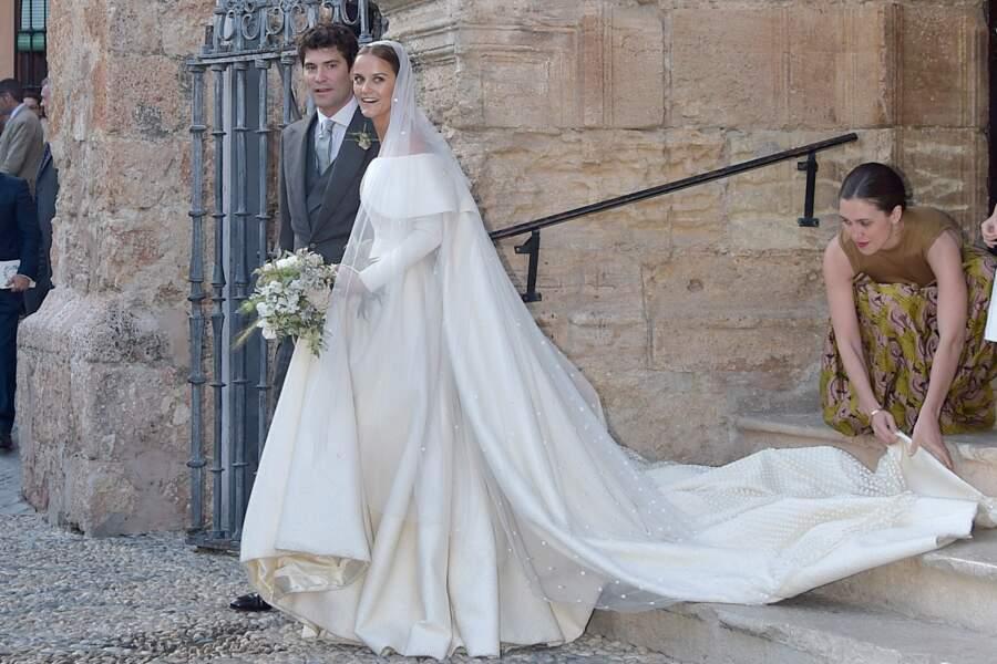 Mariage de Lady Charlotte Wellesley et Alejandro Santo Domingo, le 28 mai 2016