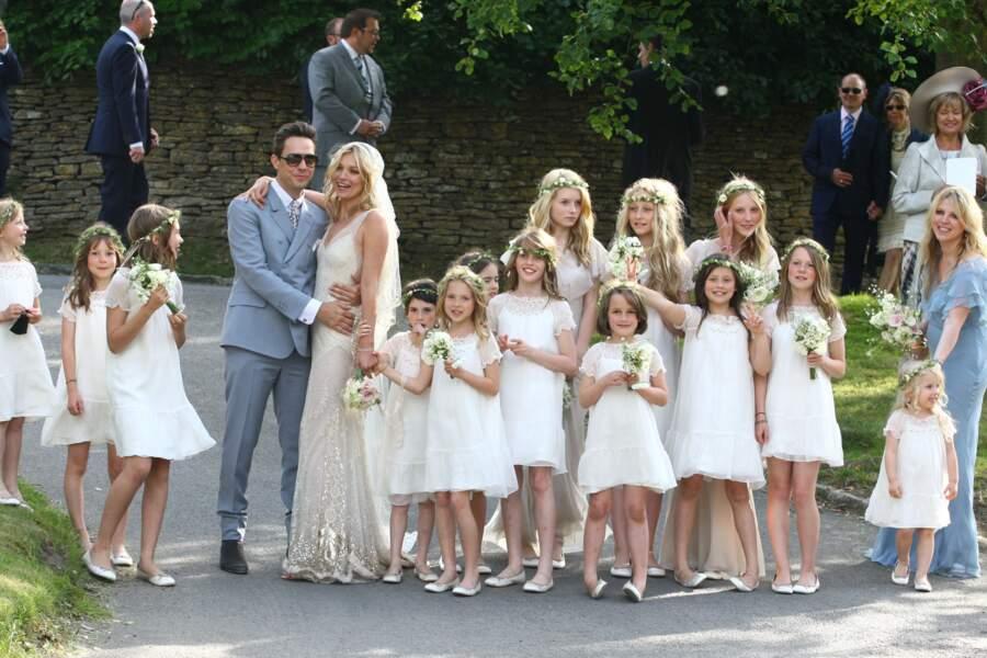 Mariage de Kate Moss et Jamie Hince, le 1 juillet 2011