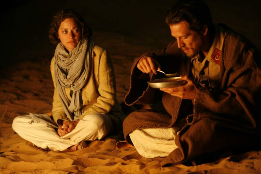 """Guillaume Canet et Marion Cotillard dans """"Le Dernier vol"""" de Karim Dridi, sorti en 2009"""