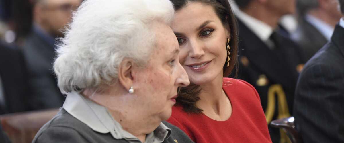 Letizia D Espagne En Deuil Mort De Pilar De Bourbon Sa Meilleure Alliee Au Sein De La Famille Royale Gala