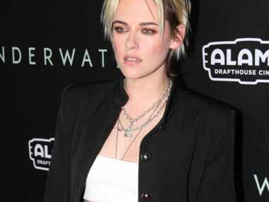 PHOTOS - Le collier cadenas de Kristen Stewart offert par sa maquilleuse, Jilian Dempsey