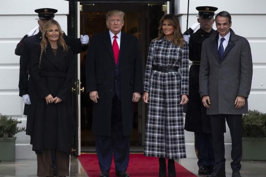 Melania Trump aime la mode
