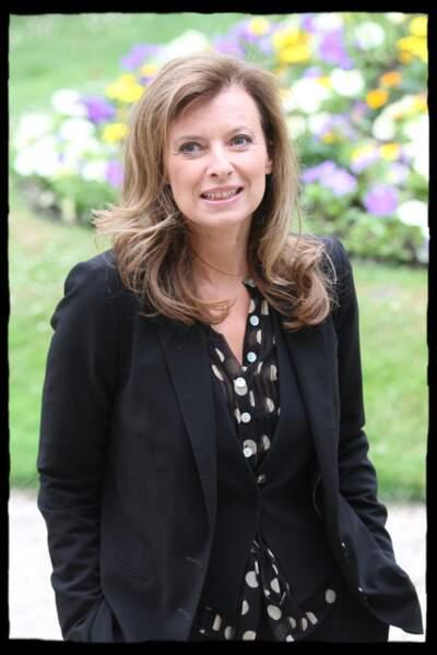 Juin 2011 : Valérie Trierweiler peu avant l'investiture de François Hollande.