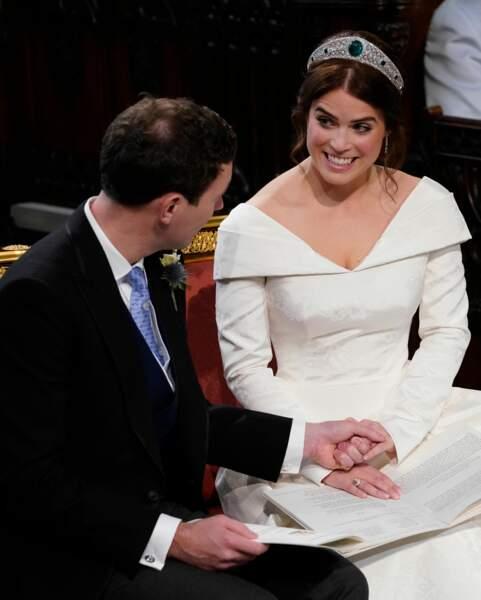 La princesse Eugenie d'York et son époux, Jack Brooksbank