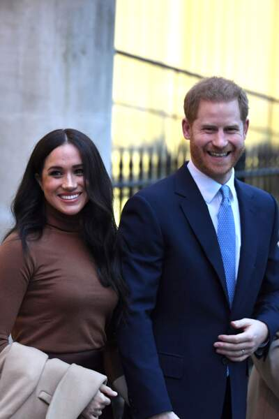 Meghan Markle et le prince Harry :  Le mercredi 8 janvier 2020, la royauté et le reste de la population apprennent la décision du couple Royal de Sussex