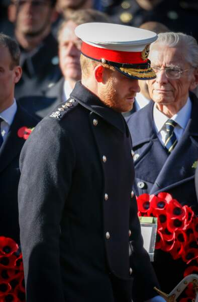 Le prince Harry en uniforme