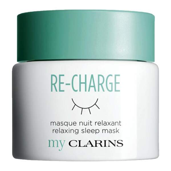 Masque Nuit Relaxant Re-Charge de Clarins (27€)