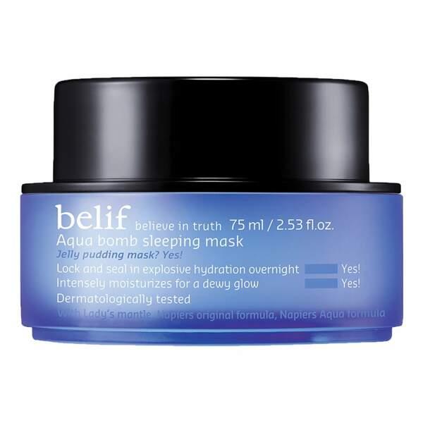 Aqua Bomb Sleeping Masque Belif (32€)