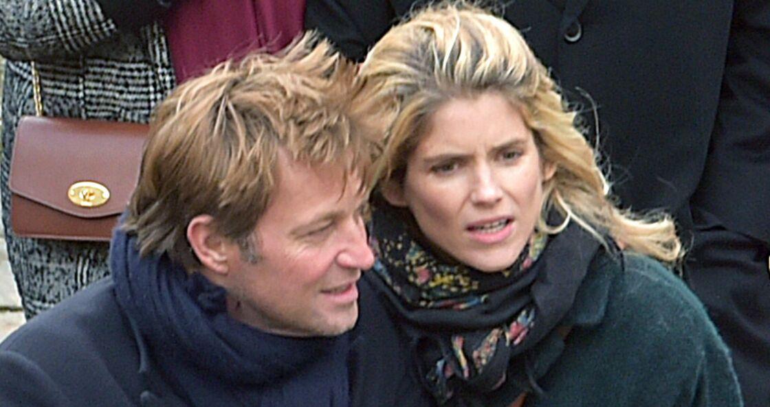 Laurent Delahousse et Alice Taglioni, à Paris, en 2017.