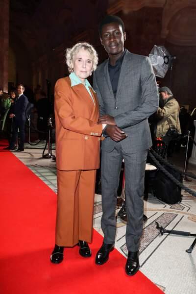 Amadou Mbow (Atlantique) et sa marraine Claire Denis