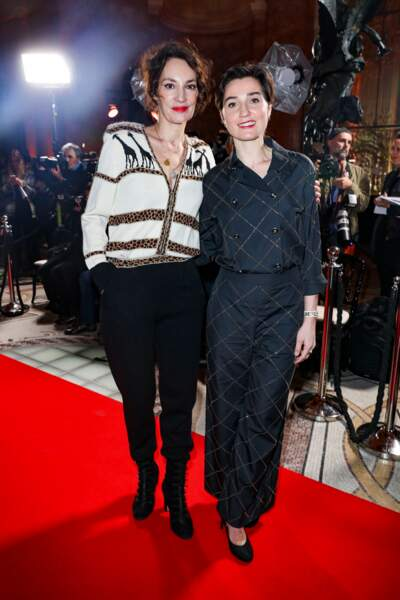 Jeanne Balibar et Nina Meurisse (Camille)