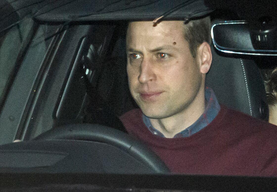 William quitte Kensington Palace le 14 janvier, lendemain de la réunion houleuse avec Harry