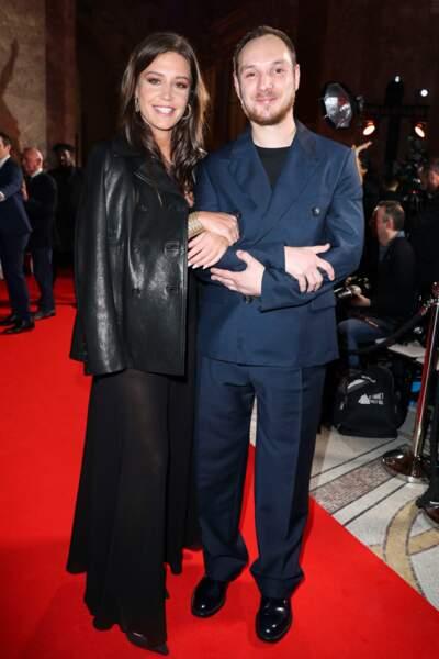 Adèle Exarchopoulos en Dior et son filleul Alexis Manenti (Les Misérables)