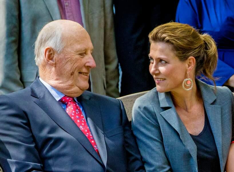 La princesse Märtha Louise de Norvège est la fille du roi Harald V et de la reine Sonja de Norvège