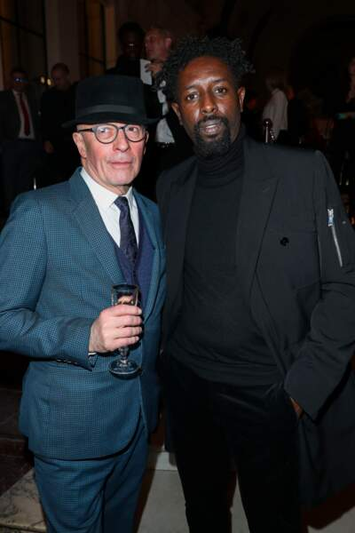 Ladj Ly (en Dior) et Jacques Audiard
