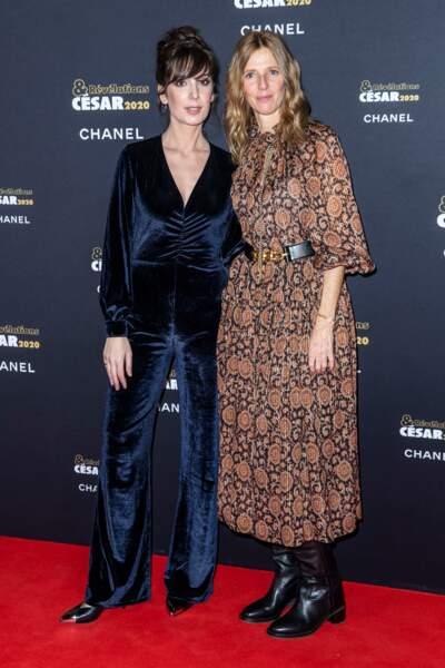 Nora Hamzawi et Sandrine Kiberlain (en Céline)