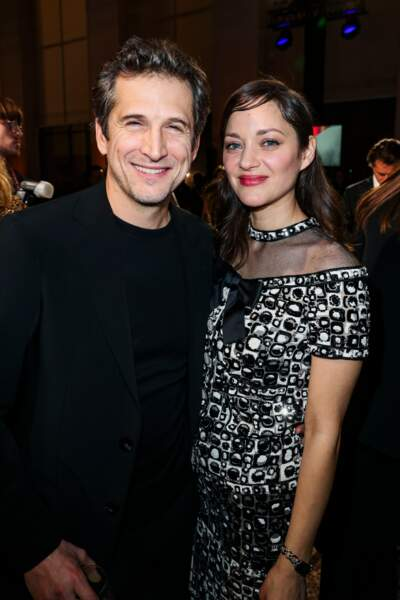 Guillaume Canet et sa compagne Marion Cotillard (en Chanel)