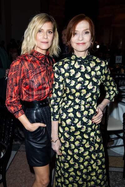 Marina Foïs et Isabelle Huppert (En Chloé)