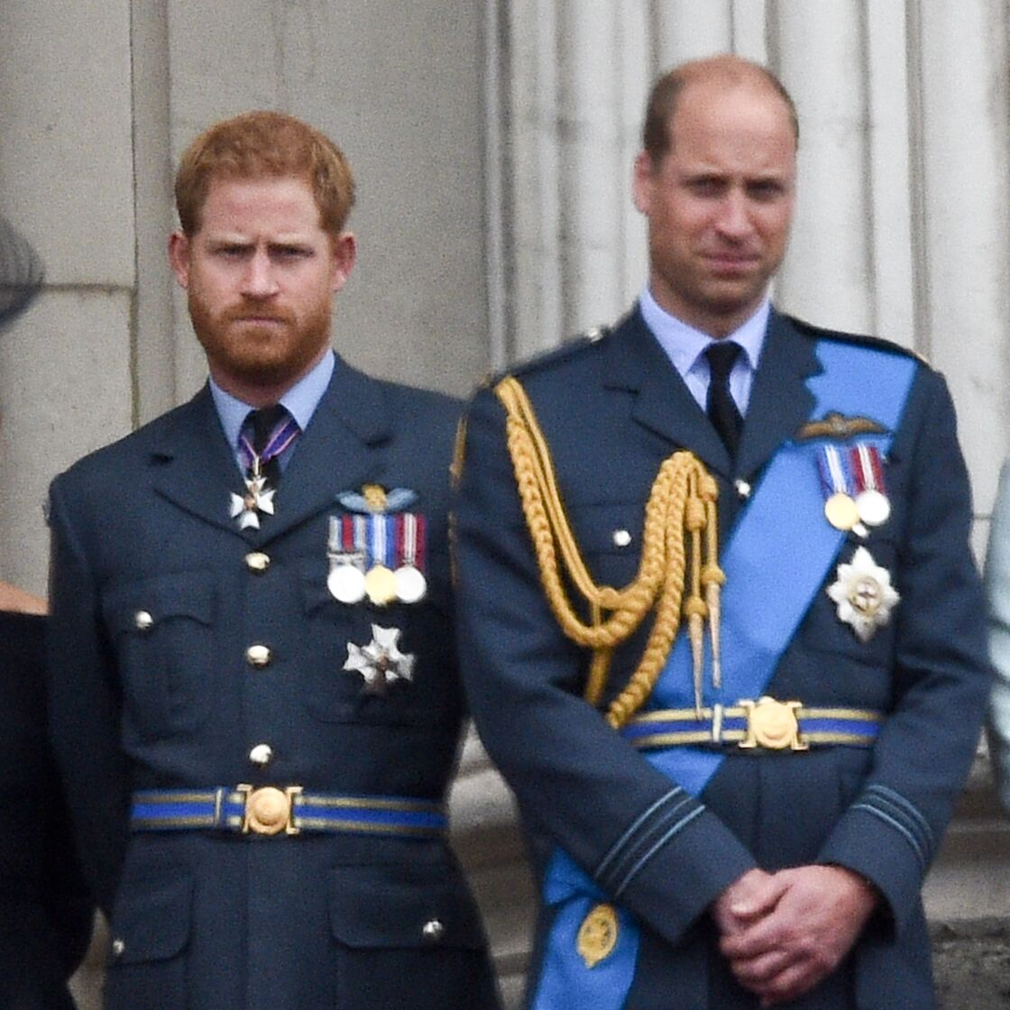 Prince Harry et prince William