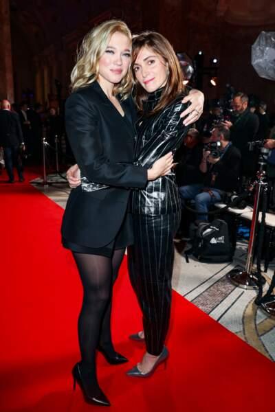Léa Seydoux et Maud Wyler (en Chanel)