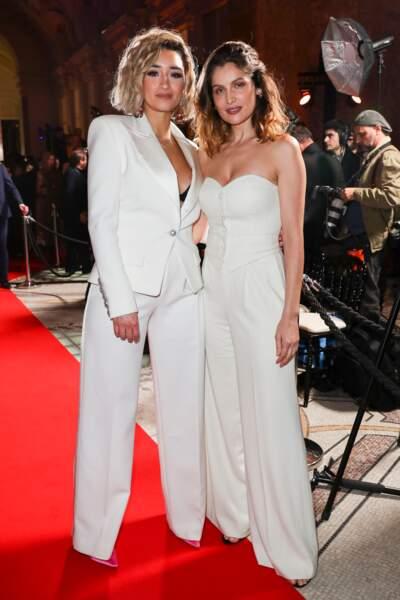 Laetitia Casta et sa filleule Shirine Boutella sexy et très assorties