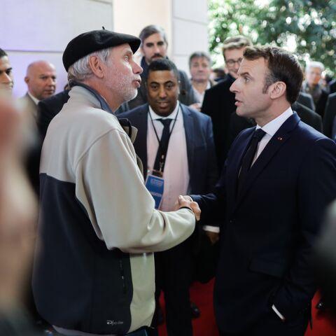 Emmanuel Macron entraîné dans un vif échange à Pau: «Monsieur, je suis gentil, moi»
