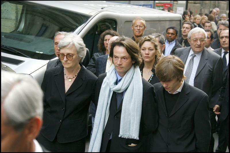Bruno Finck lors des obsèques de Jean-Claude Brialy en 2007