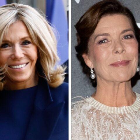 PHOTO – Brigitte Macron et Caroline de Monaco rivalisent d'élégance pour Stéphane Bern