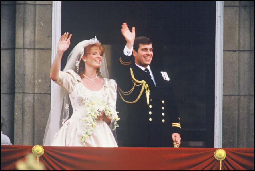 Sarah Margaret Ferguson, duchesse d'York, et son ex-mari, le prince Andrew